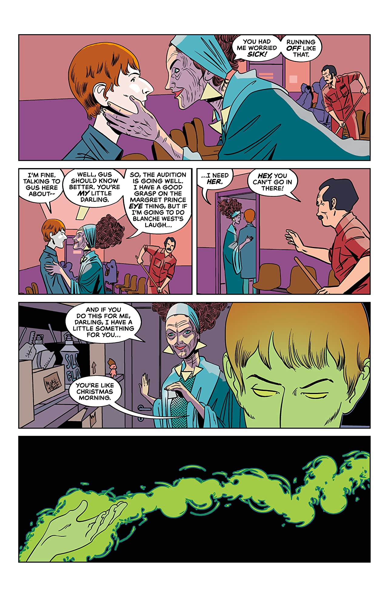Tales from the Umbrella Academy: You Look Like Death #3