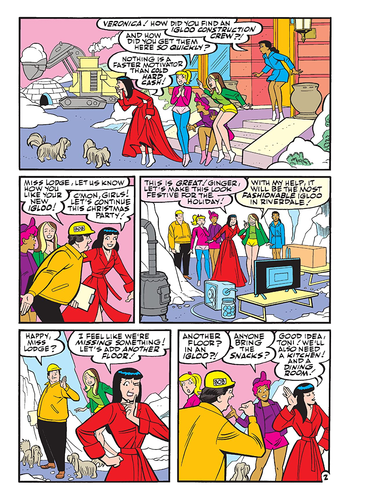 Betty & Veronica Best Friends Digest No.286