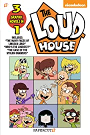 """Loud House 3 in 1 Vol. 4: Collecting """"The Many Faces of Lincoln Loud,"""" """"Who's the Loudest?,"""" and """"The Case of the Stolen Drawers"""""""