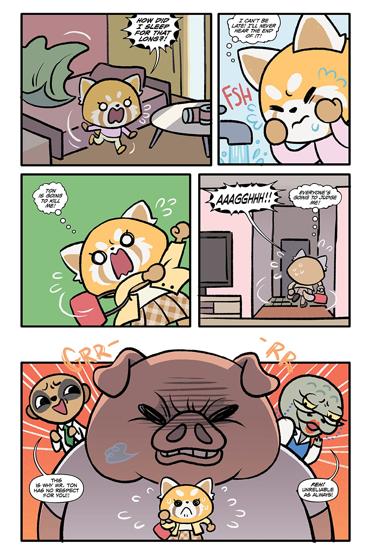 Aggretsuko Tome 2: Stress Management