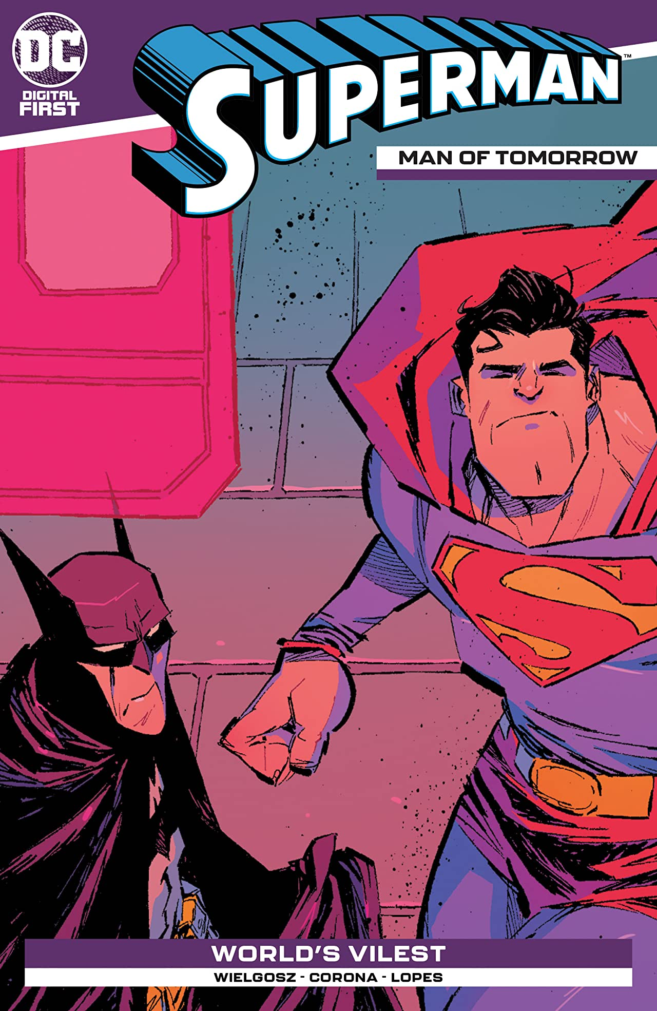 Superman: Man of Tomorrow No.19
