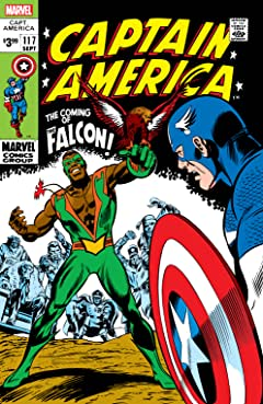 Captain America (1968-1996) #117: Facsimile Edition