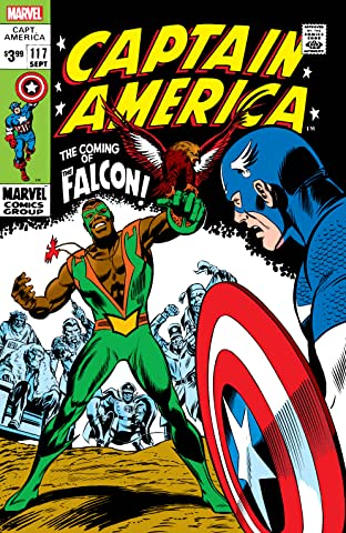 Captain America (1968-1996) #117: Facsimile Edition
