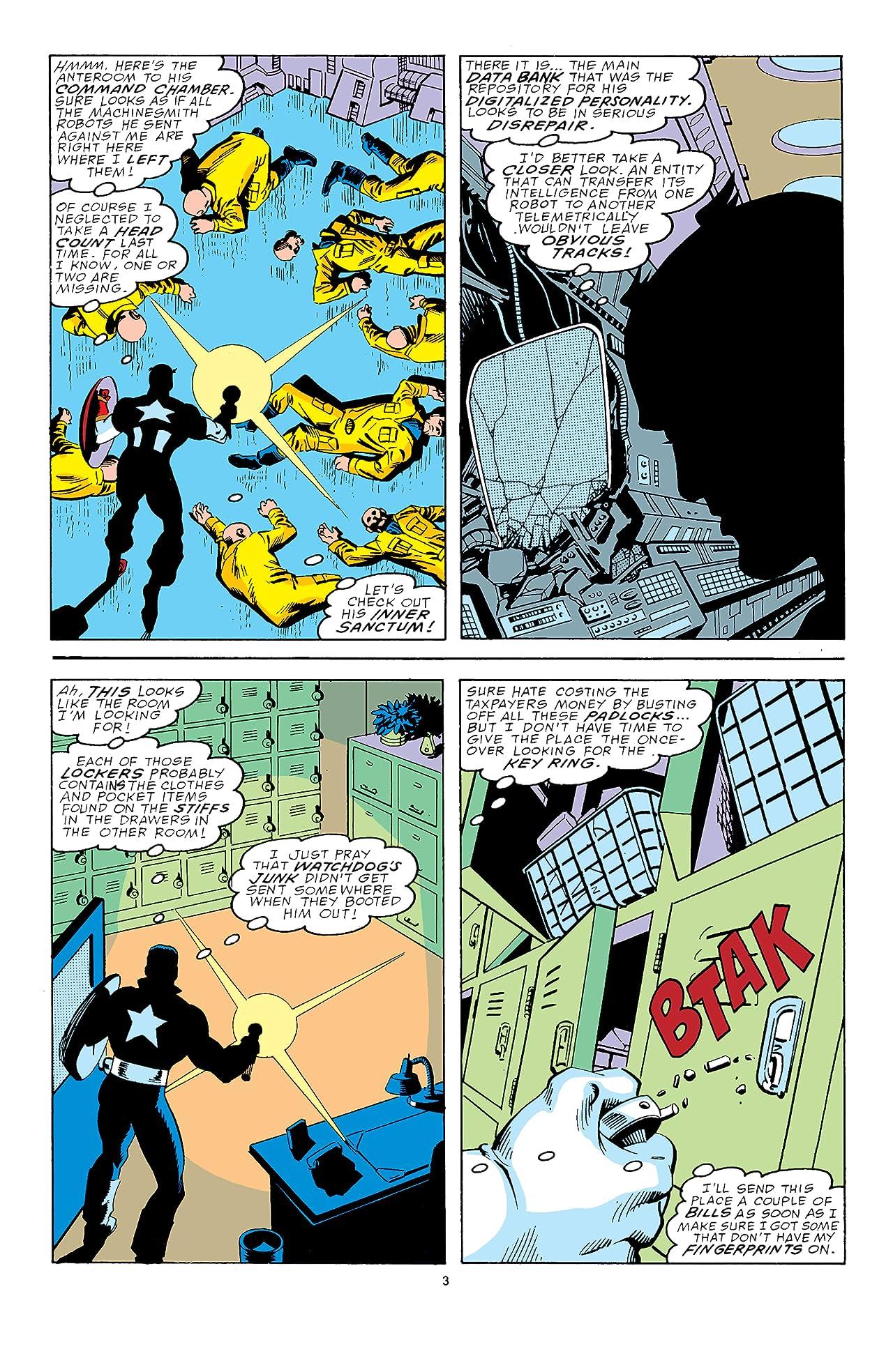 Captain America (1968-1996) #354: Facsimile Edition