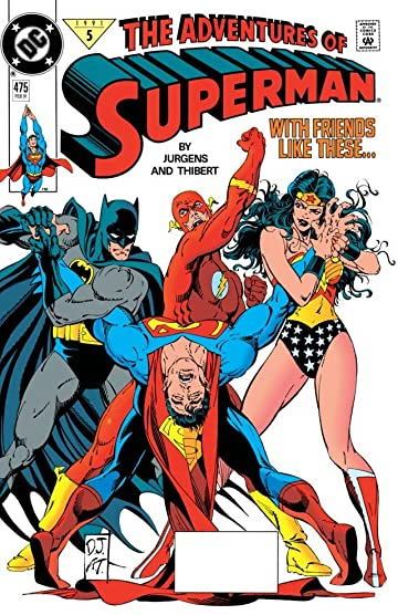 Adventures of Superman (1986-2006) #475