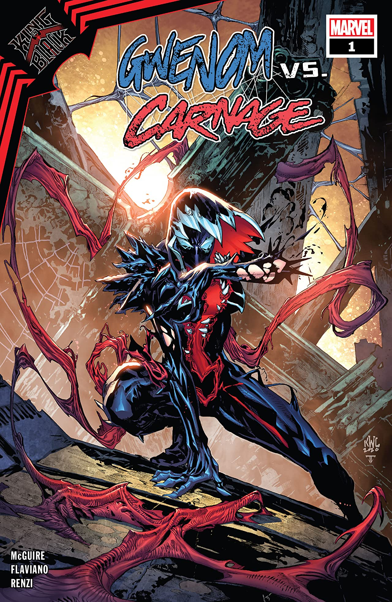 King In Black: Gwenom vs. Carnage (2021-) No.1 (sur 3)