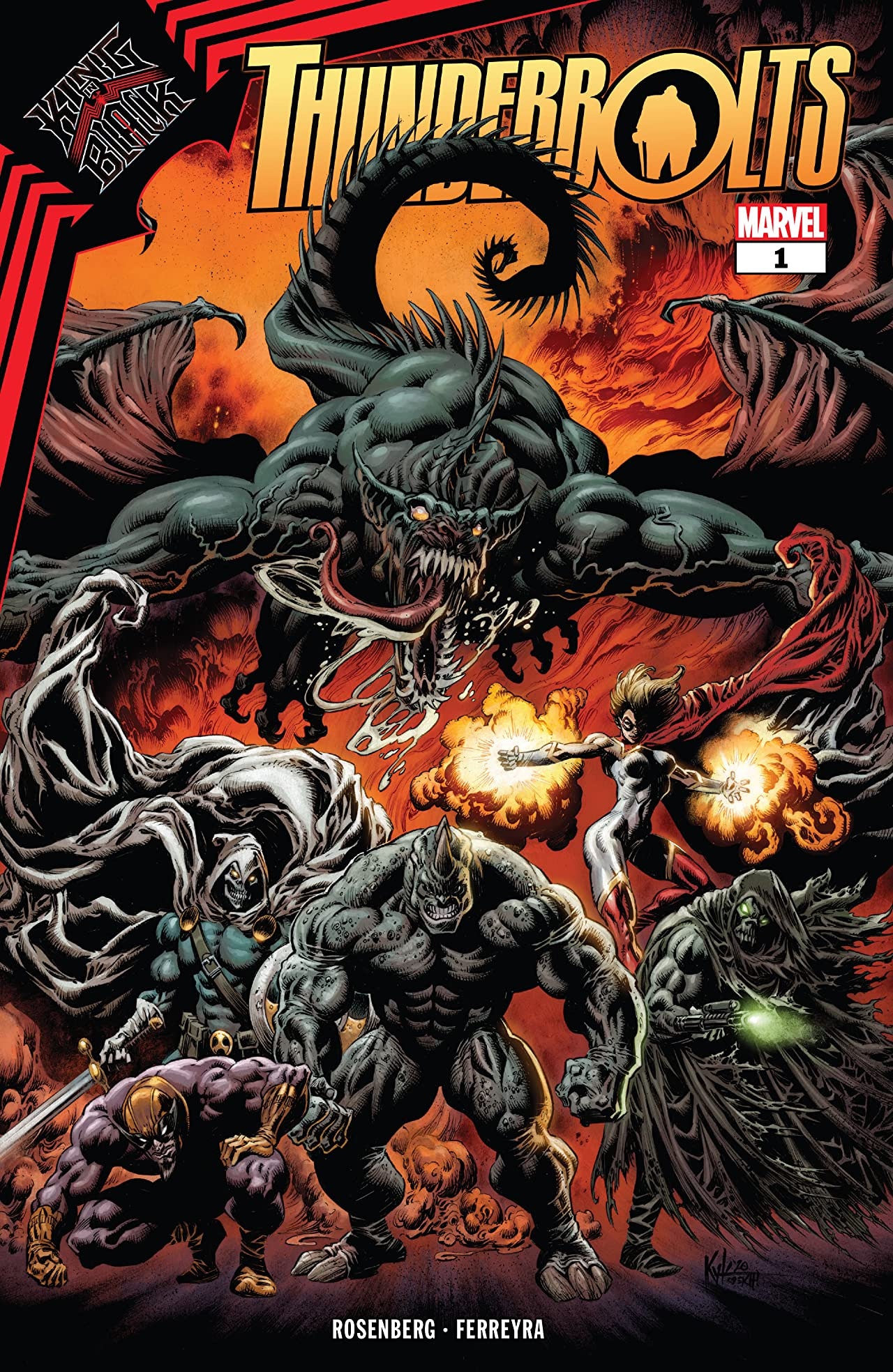 King In Black: Thunderbolts (2021-) No.1 (sur 3)