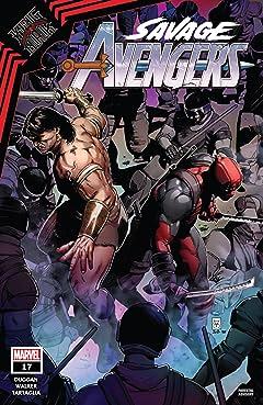 Savage Avengers (2019-) No.17