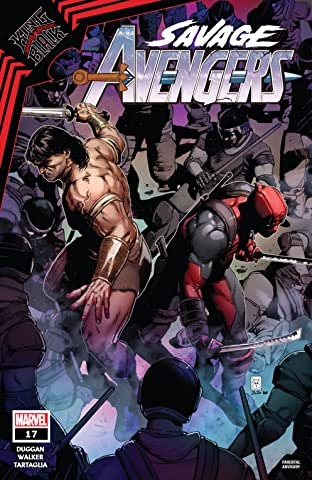 Savage Avengers (2019-) No.17