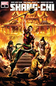 Shang-Chi (2020) No.5 (sur 5)