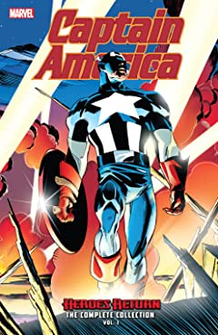 Captain America: Heroes Return - The Complete Collection Tome 1