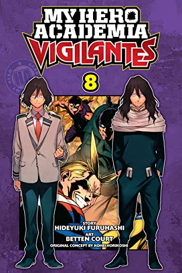 My Hero Academia: Vigilantes Vol. 8