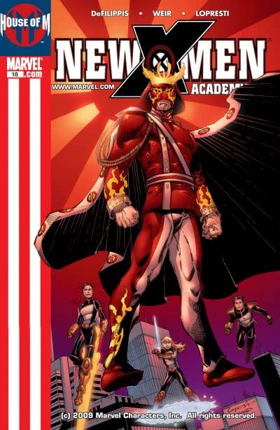 New X-Men (2004-2008) #18