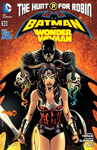 Batman and Robin (2011-2015) #30: Wonder Woman