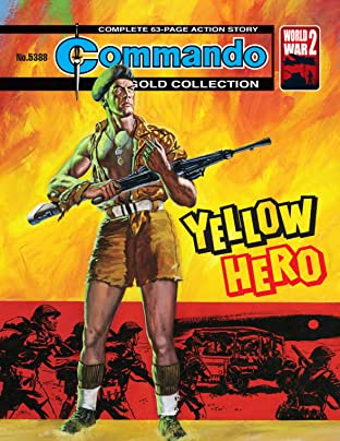 Commando #5388: Yellow Hero