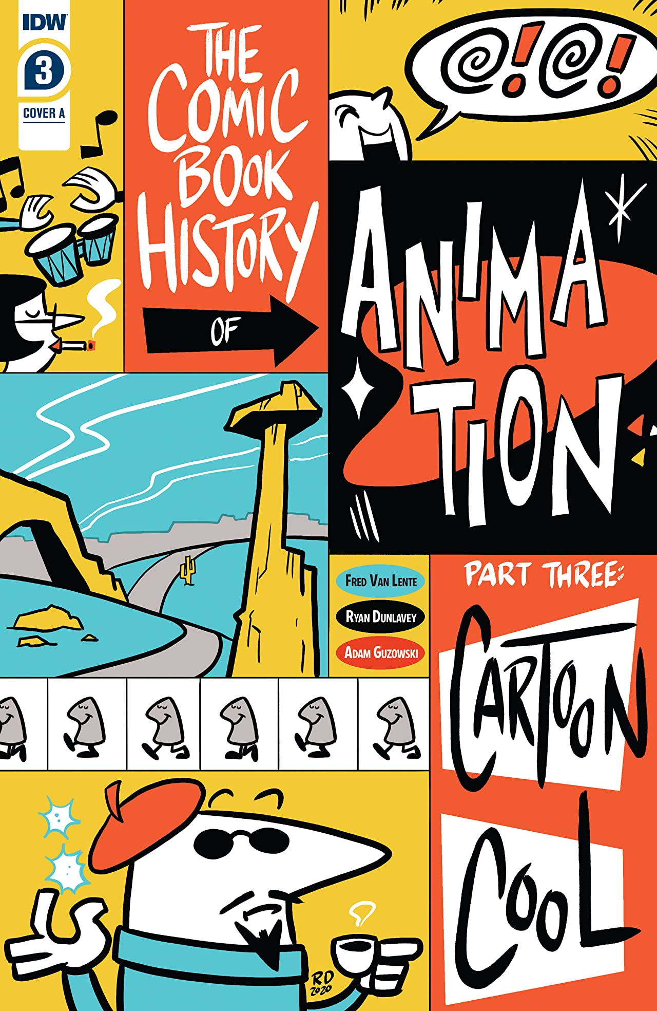 Comic Book History of Animation No.3 (sur 5)