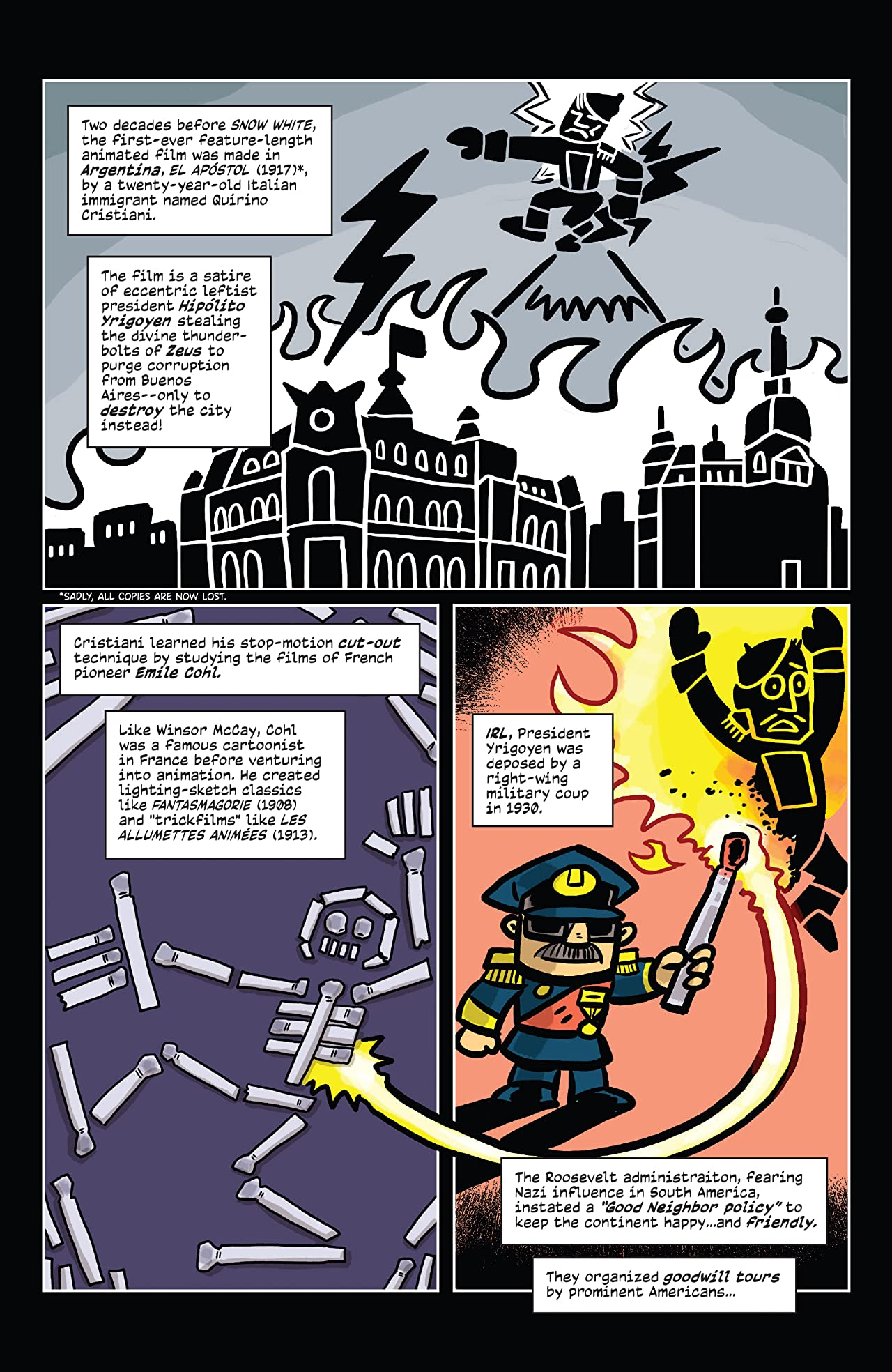 Comic Book History of Animation #3 (of 5)