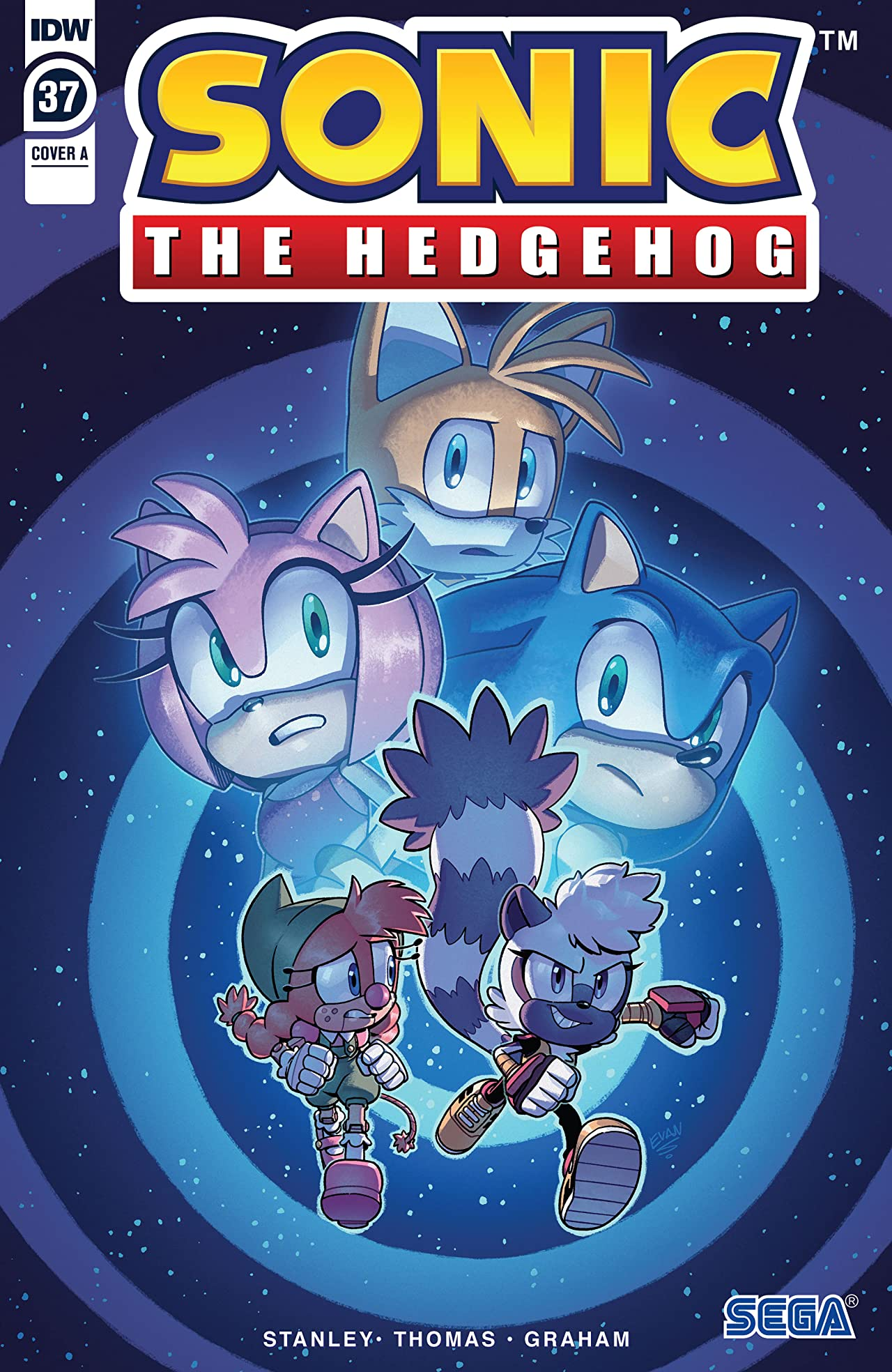 Sonic The Hedgehog (2018-) #37
