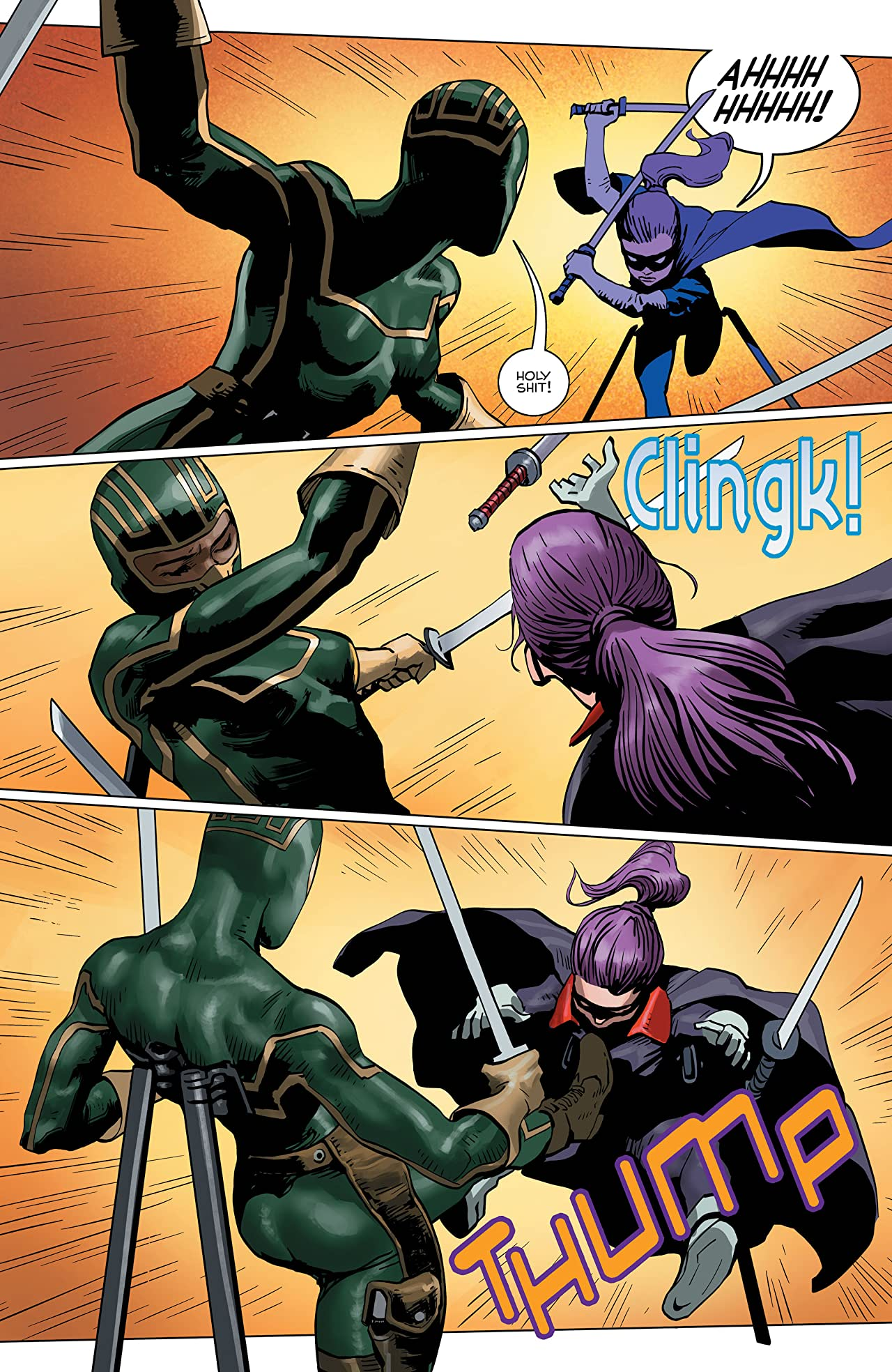 Kick-Ass Vs. Hit-Girl #3