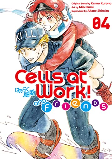 Cells at Work and Friends! Tome 4