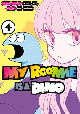 My Roomie Is a Dino Tome 4