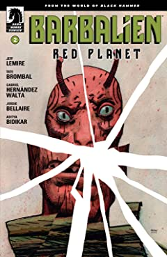 Barbalien: Red Planet #2