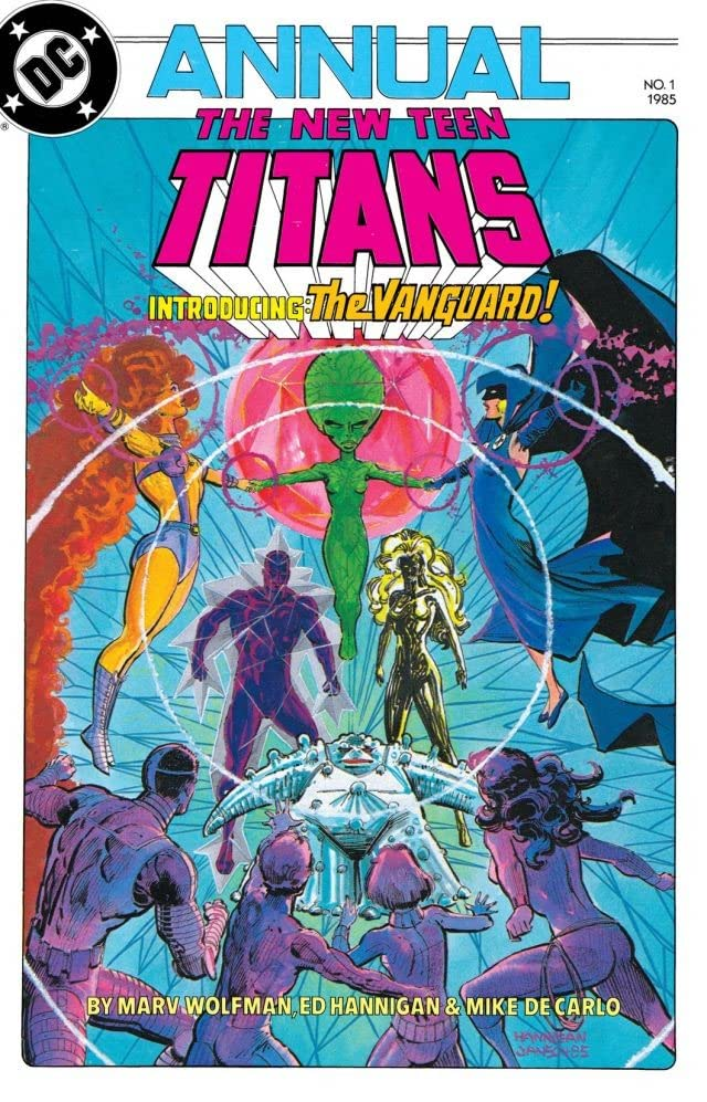 The New Teen Titans (1984-1996): Annual #1