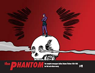 The Phantom: The Complete Newspaper Dailies: 1954-1956 Vol. 13