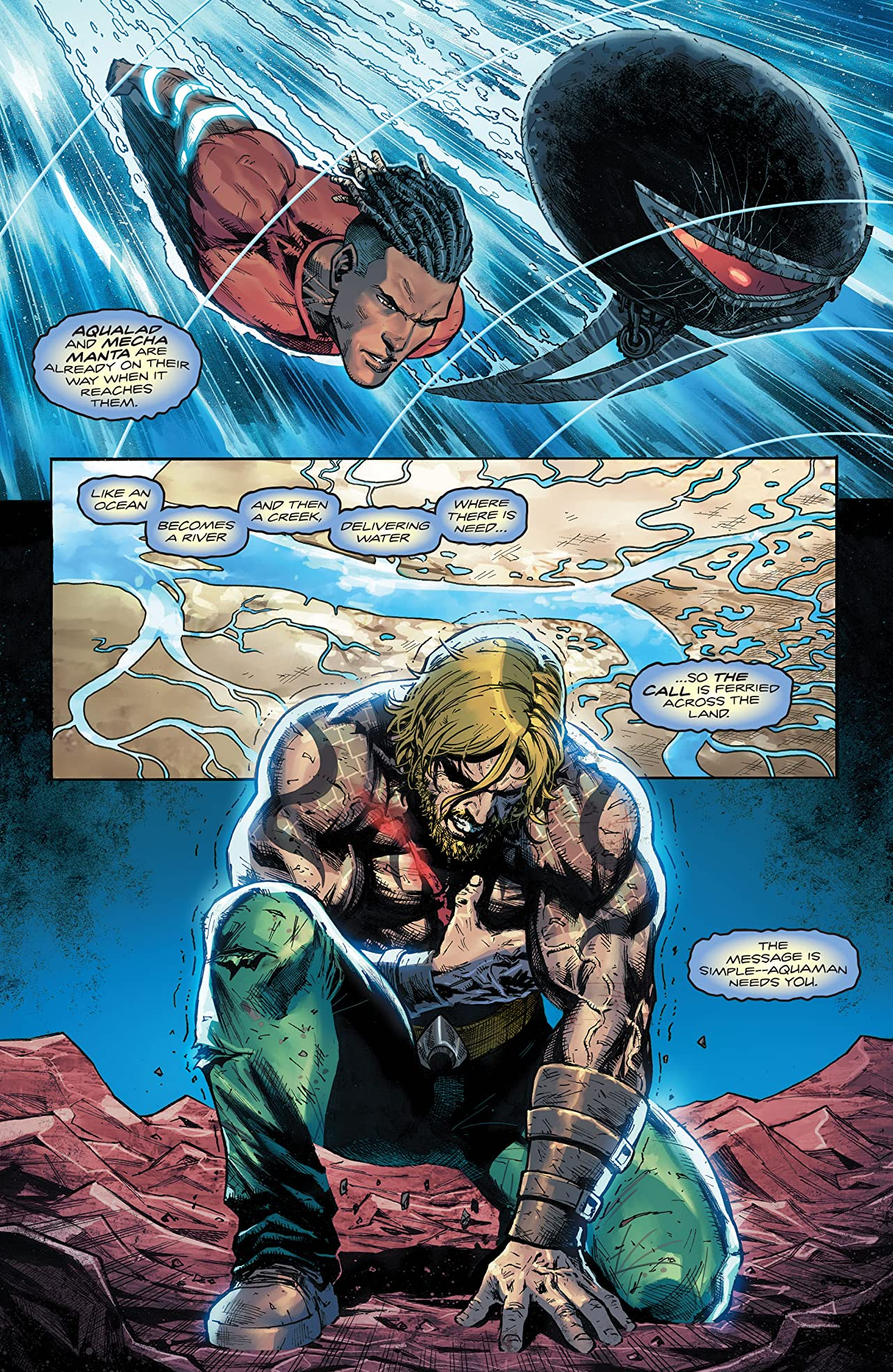 Aquaman (2016-) No.65