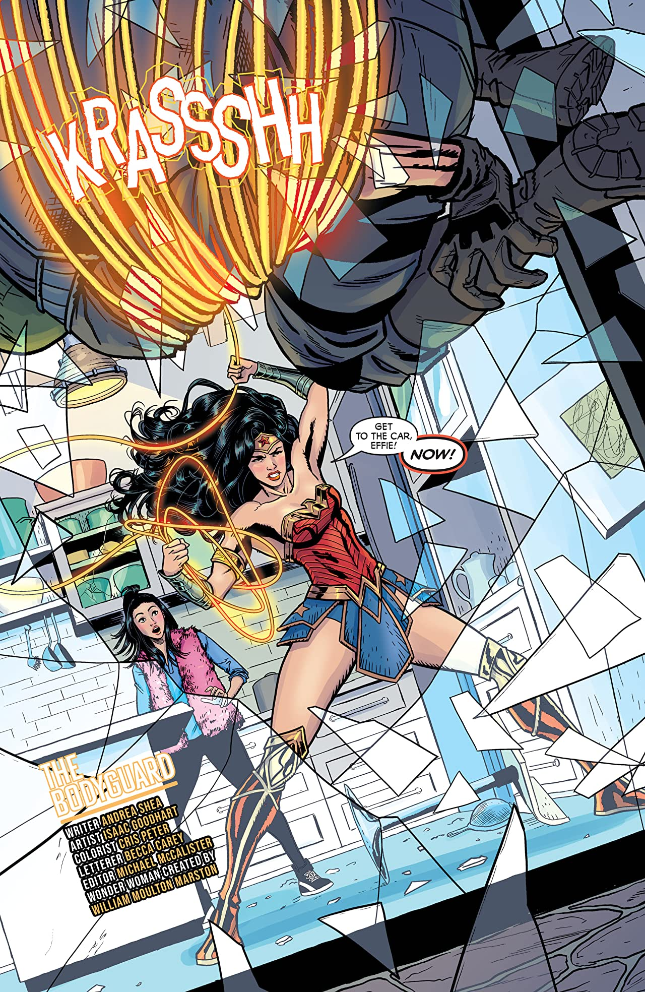Wonder Woman: Agent of Peace No.17