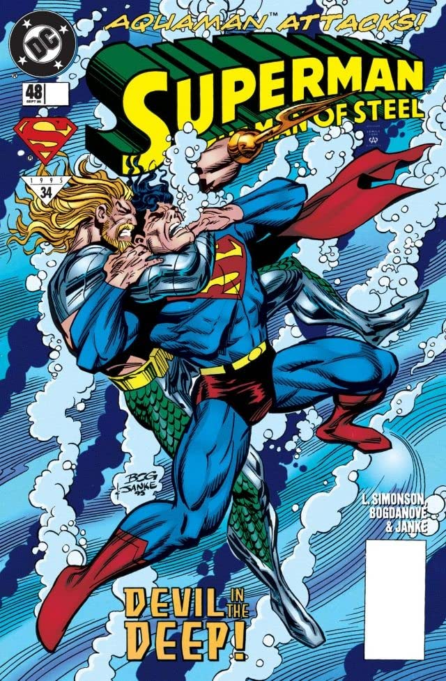 Superman: The Man of Steel (1991-2003) #48