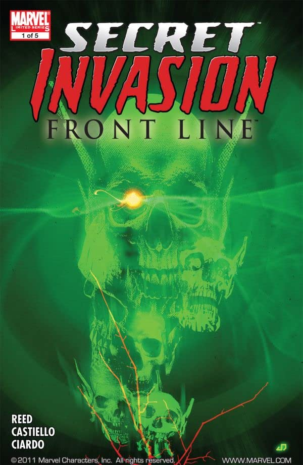 Secret Invasion: Front Line No.1 (sur 5)