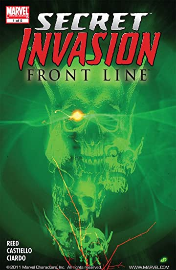 Secret Invasion: Front Line #1 (of 5)