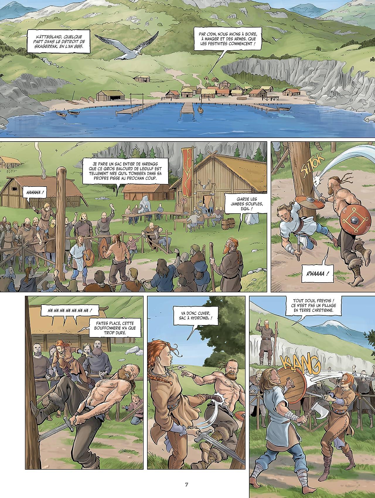 Sirènes et Vikings Vol. 2: Écume de nacre