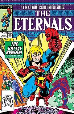 Eternals (1985-1986) #1 (of 12)