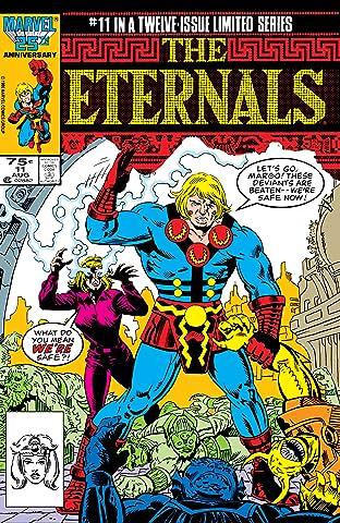 Eternals (1985-1986) #11 (of 12)