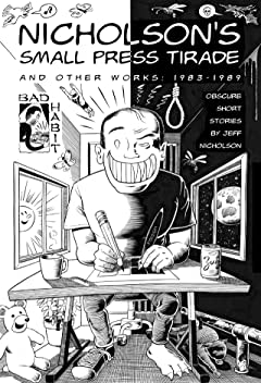 Nicholson's Small Press Tirade: And Other Works 1983-1989