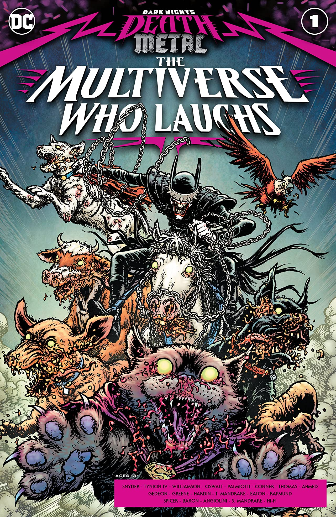 Dark Nights: Death Metal - The Multiverse Who Laughs #1