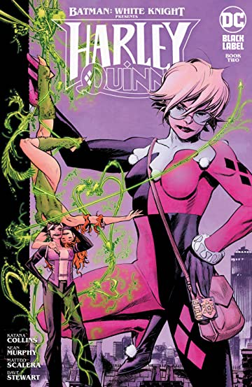 Cover of issue #3 shows Harley in her classic suit (minus the mask) with a GTO badge. On the left, on a much smaller scare are Neo-Joker and Poison Ivy intertwined with vines.