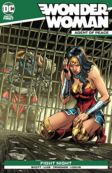 Wonder Woman: Agent of Peace #18