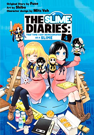 The Slime Diaries: That Time I Got Reincarnated as a Slime Tome 4