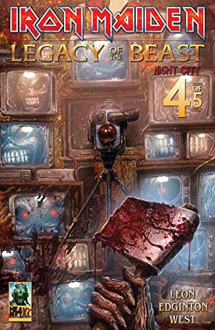 Iron Maiden: Legacy of the Beast - Night City No.4 (sur 5)