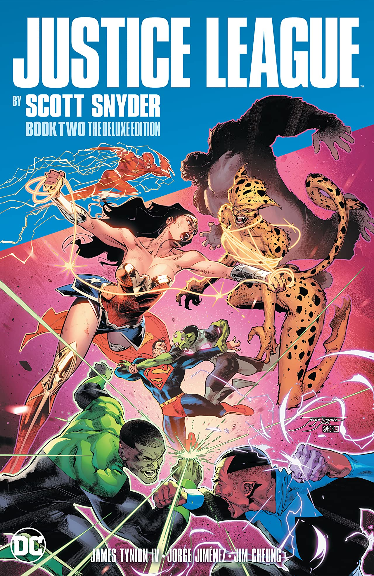 Justice League by Scott Snyder Book Two Deluxe Edition