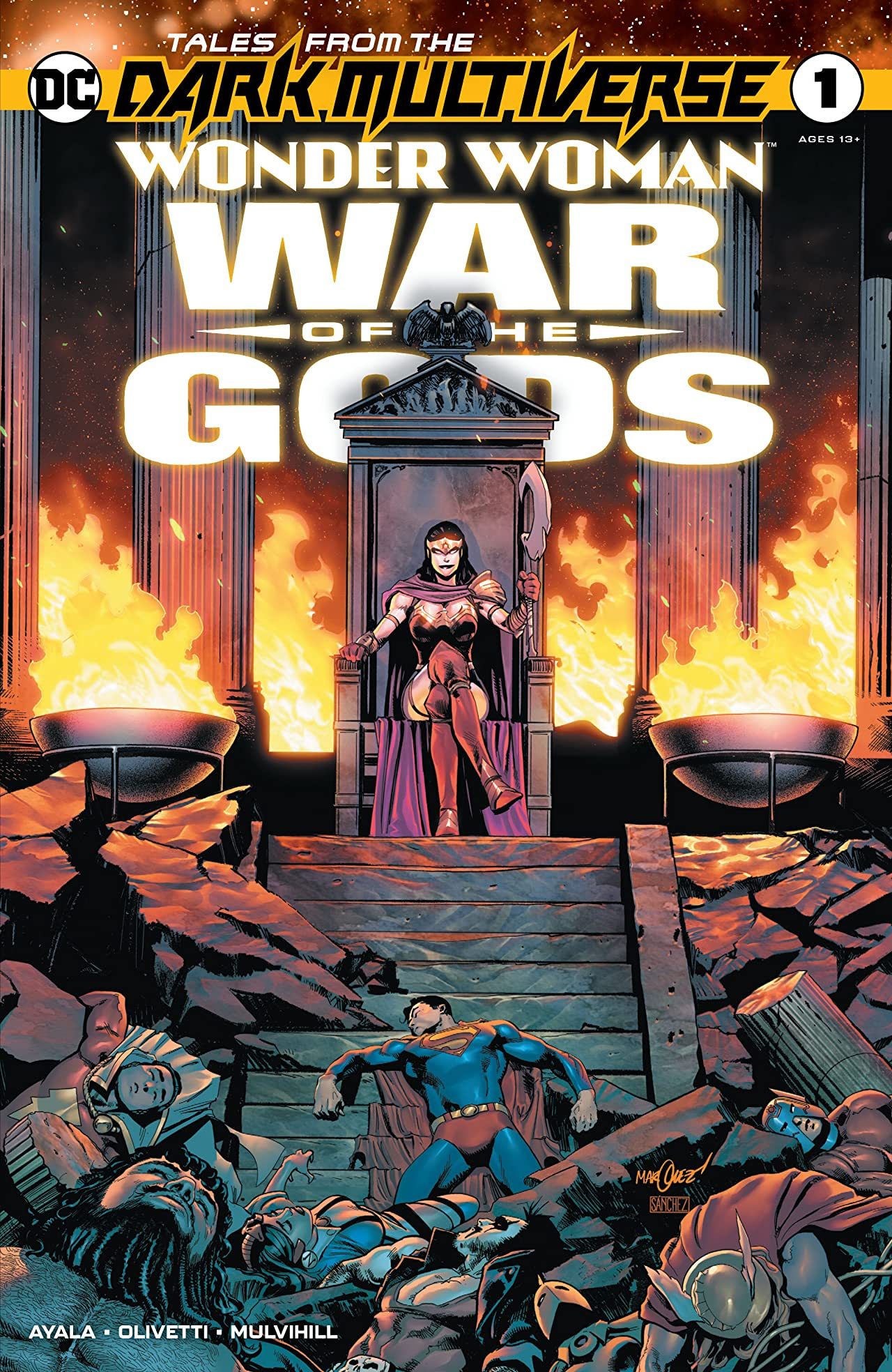 Tales from the Dark Multiverse: Wonder Woman: War of the Gods (2020-) No.1