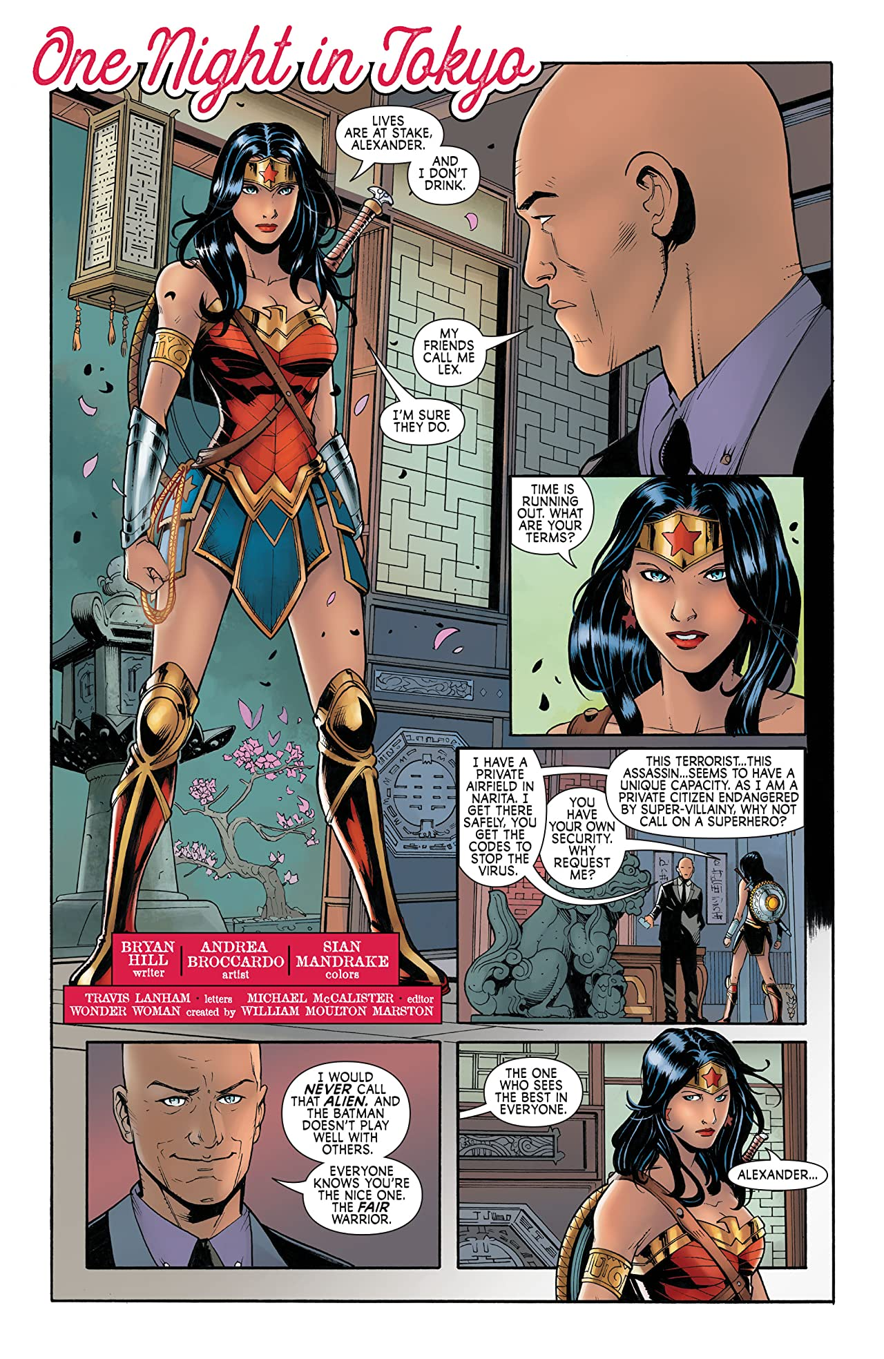 Wonder Woman: Agent of Peace #19