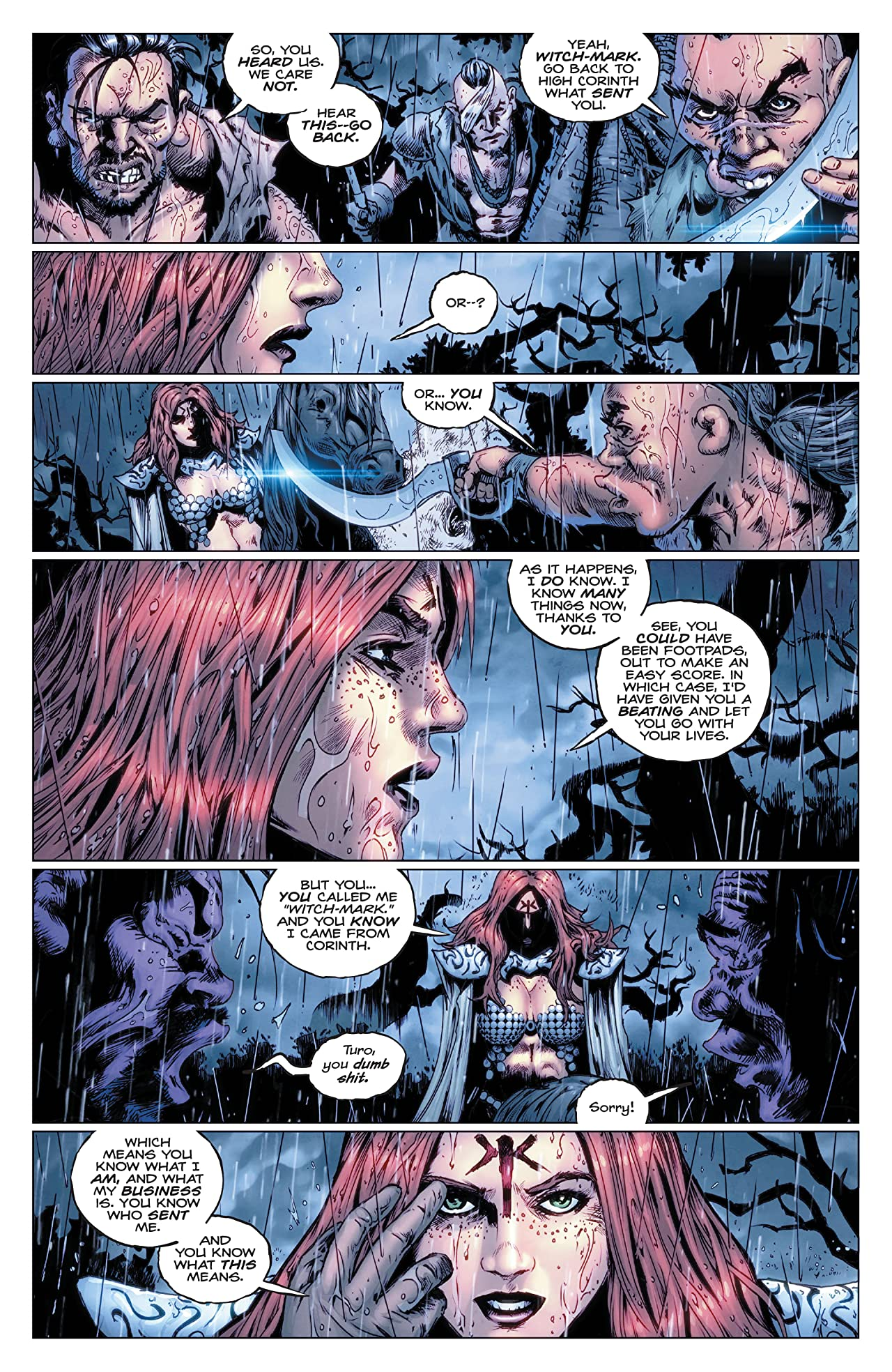 Red Sonja: The Super Powers #1