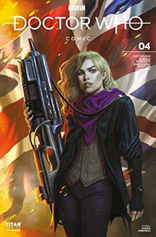 Doctor Who Comics #4