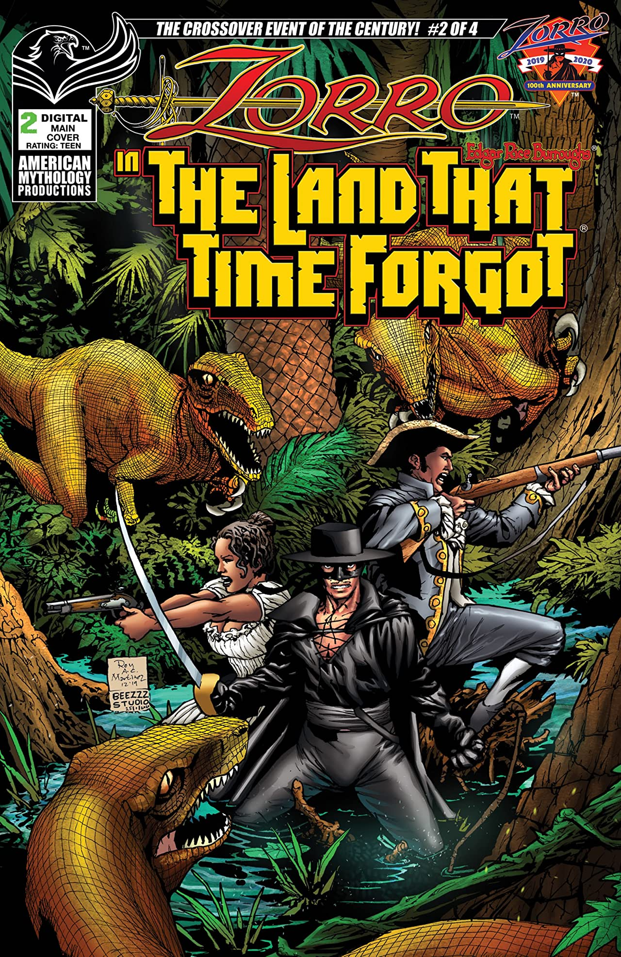 Zorro in the Land That Time Forgot No.2