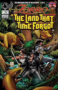 Zorro in the Land That Time Forgot #2