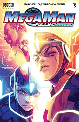Mega Man: Fully Charged #5